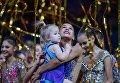 Спортсменка сборной России по художественной гимнастике Александра Солдатова на гала-концерте Гран-при Москвы по художественной гимнастике