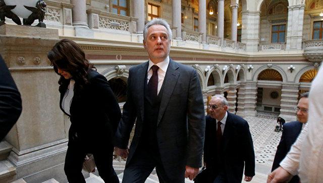 Фирташа выпустили под залог в $125 млн иобещание непокидать Австрию