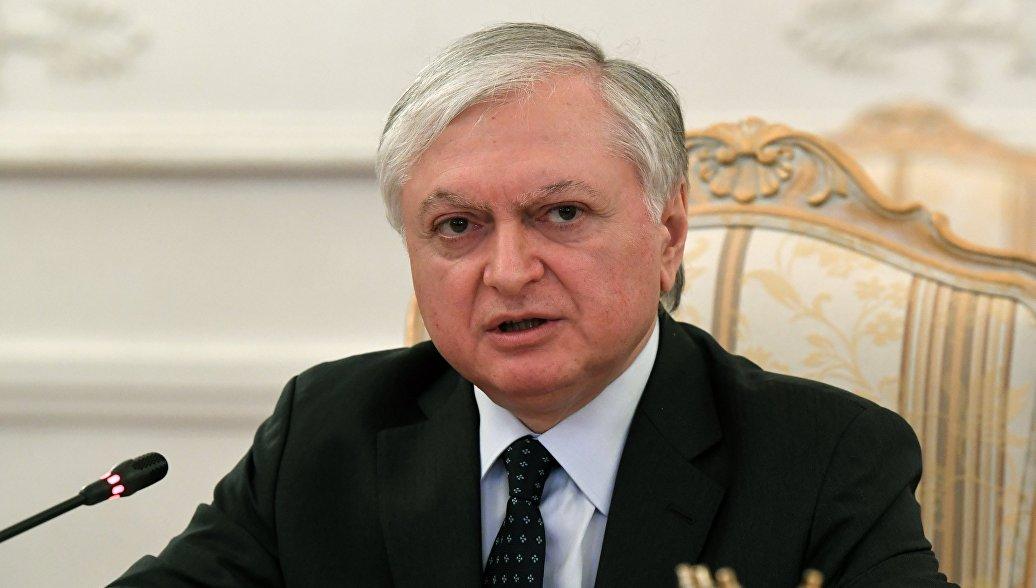 Эдвард Налбандян проведет неофициальные переговоры в Москве