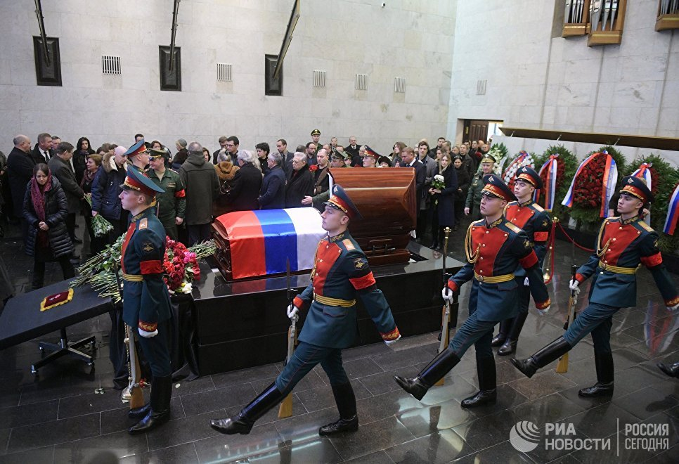 МИД назвал место идату похорон Виталия Чуркина