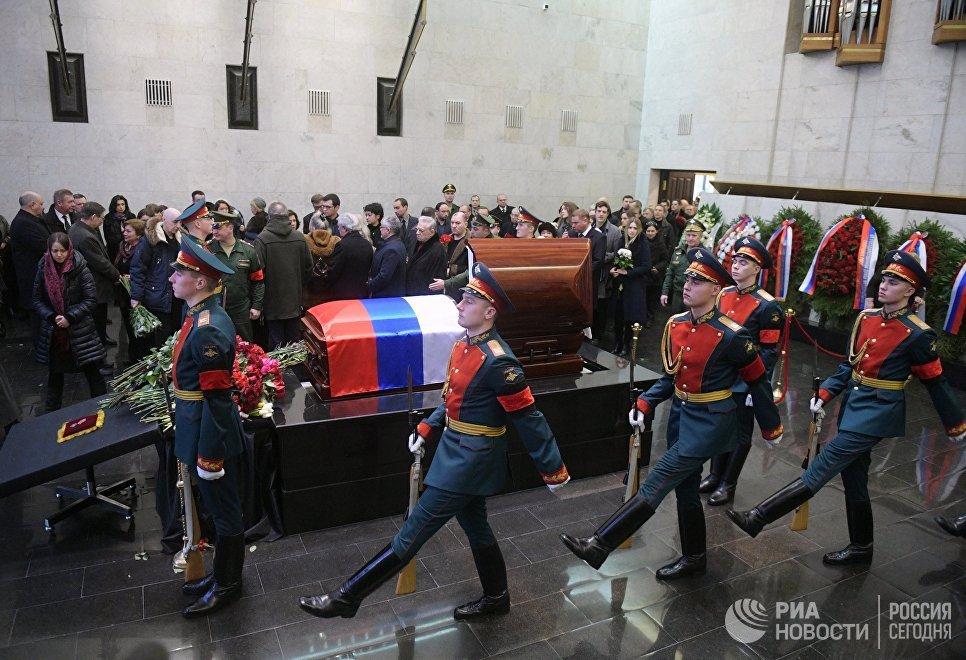 Виталия Чуркина похоронят наТроекуровском кладбище 24февраля