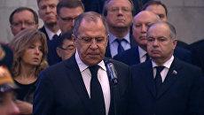 LIVE: Церемония прощания с постоянным представителем РФ при ООН Виталием Чуркиным