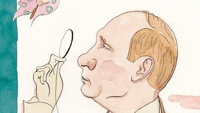New Yorker анонсировал русскоязычную обложку сПутиным