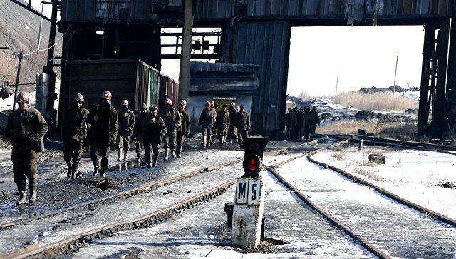 Шахта Макеевуголь в Донецкой области. Архивное фото