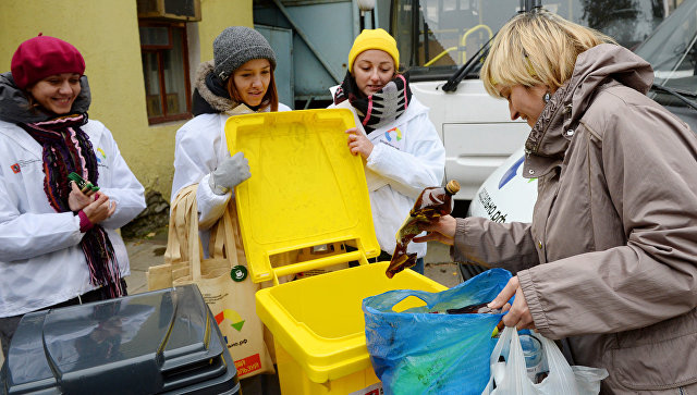Проект по раздельному сбору мусора