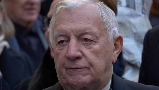 Руководитель МинкультаРФ поздравил сюбилеем артиста Георгия Штиля