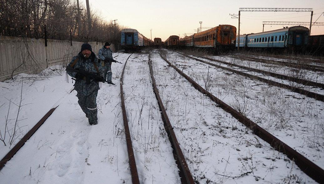 МЧС ЛНР: подорвана последняя железная дорога, соединяющая республику с Украиной