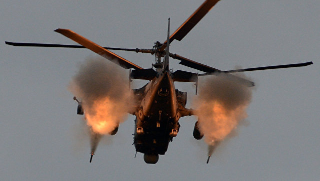 РФ  в 2017-ом  начнет экспорт вертолетов Ка-52 «Аллигатор»