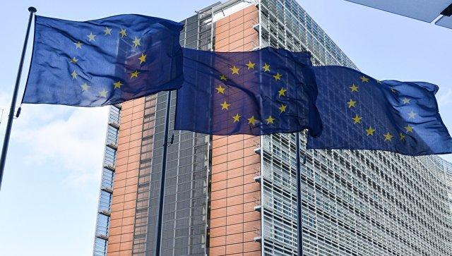 Флаги Европейского Совета в Брюсселе. Архивное фото