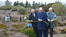 Открытие ботанического сада Сибирская флора в Шотландии