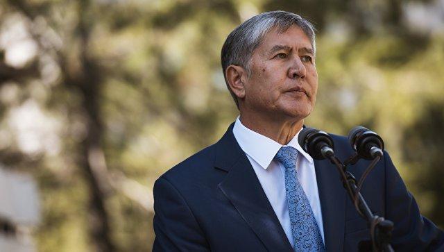 Атамбаев обвинил ряд киргизских СМИ в дестабилизации обстановки в стране