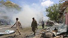Взрыв в Сомали. Архивное фото