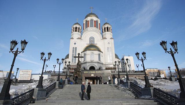 Храм-на-Крови в Екатеринбурге. Архивное