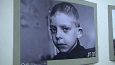 Детские лица войны – берлинская фотовыставка о боевых действиях в Донбассе