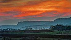 Закат в Крыму. Архивное фото