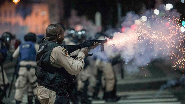 В Бразилии почти 50 человек пострадали в ходе беспорядков