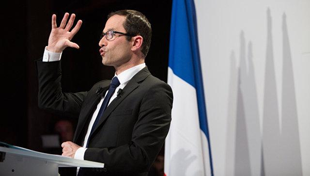 Кандидат в президенты Франции Бенуа Амон. Архивное фото