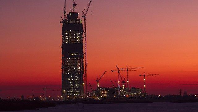 Петербургский «Лахта-Центр» стал самым высоким зданием вевропейских странах