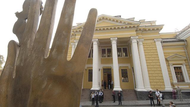 Здание Московской хоральной синагоги. Архивное фото