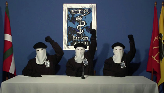 Баскская группировка данная  объявит ополном разоружении