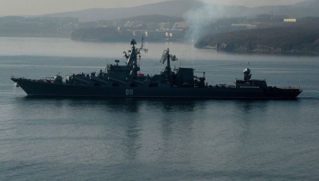 Крейсер Тихоокеанского флота «Варяг». Архивное фото