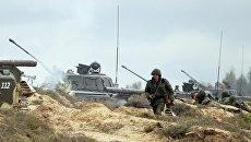 Учения вооруженных сил России и Белоруссии Запад-2013. Фото с места события