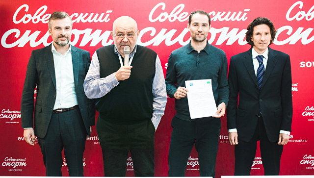 Александр Зотов, Юрий Каннер, Роман Широков и Алексей Смертин