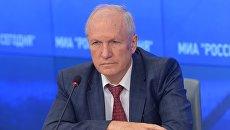 Вице-президент Российской академии наук академик Валерий Козлов. Архивное фото