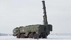 Групповые пуски по аэродрому противника - учения Искандеров-М под Оренбургом