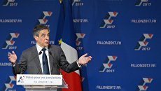 Кандидат на пост президента Франции от партии Республиканцев Франсуа Фийон. Архивное фото
