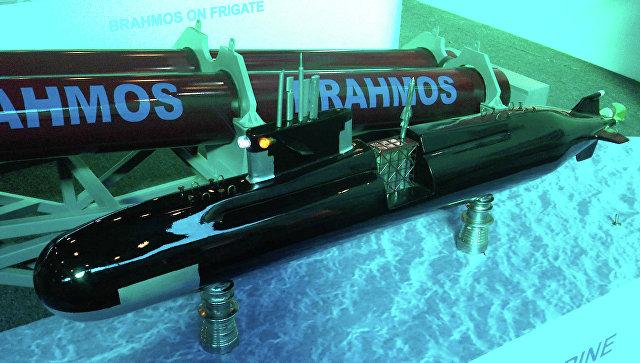 Cверхзвуковая ракета BrahMos для ВВС Индии. Архивное фото