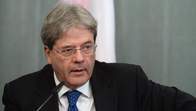 Премьер Италии назвал роль Франции центральной в Евросоюзе