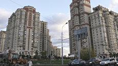 Жилой комплекс Шуваловский на Ломоносовском проспекте в Москве. Архивное фото
