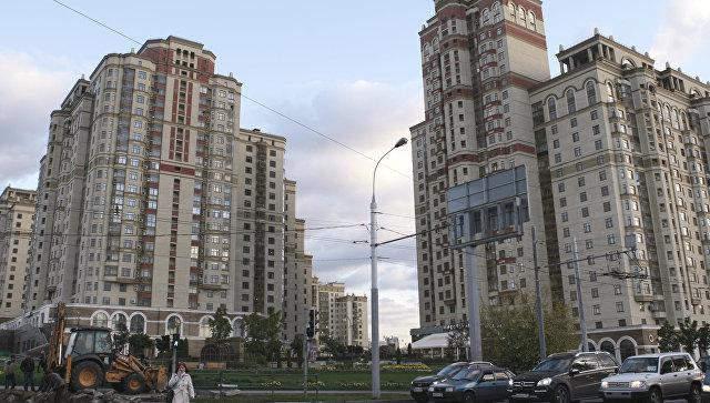 Жилой комплекс Шуваловский на Ломоносовском проспекте в Москве. Архивное