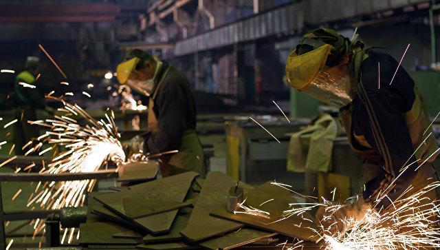 Судостроительный завод Красное Сормово в Нижнем Новгороде. Архивное фото