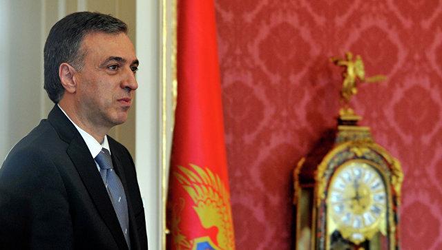 Президент Черногории Филип Вуянович