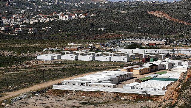 Еврейское поселение в долине Шило на Западном берегу реки Иордан. Архивное фото