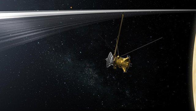 Cassini впоследний раз отправил кадры Сатурна