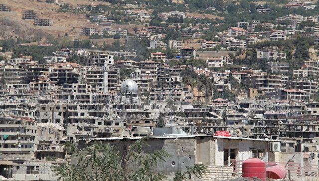 Город Забадани, пригород Дамаска. Архивное фото