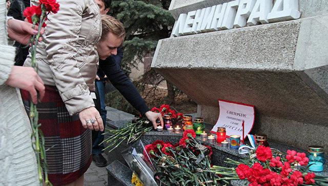 ВСимферополе объявили траур пожертвам теракта вметро Петербурга