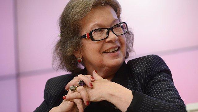 Сопредседатель Зиновьевского клуба МИА Россия сегодня Ольга Зиновьева. Архивное фото