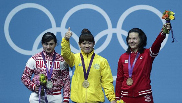 МОК лишил российскую тяжелоатлетку серебряной медали Игр