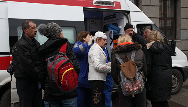 55 пострадавших при взрыве вметро остаются в клиниках