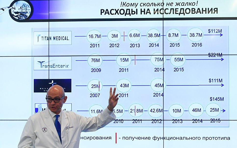 Русский робот-хирург может появится в клиниках через два года