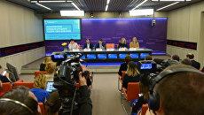 Круглый стол в формате видеомоста Москва – Симферополь на тему: Главное в образовании на ММСО 2017: тенденции, тренды и технологии