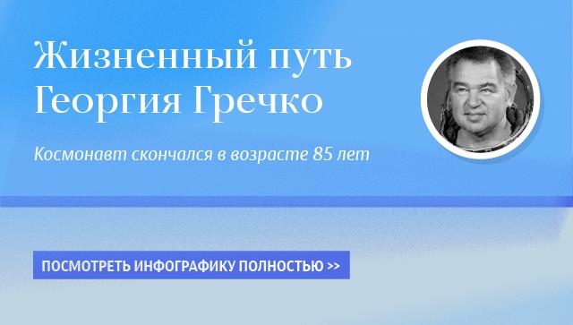Жизненный путь Георгия Гречко