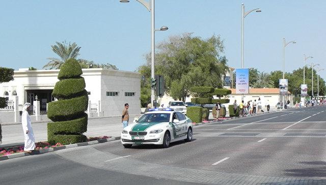 Полиция Дубая. Архивное фото