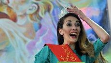 Ирина Аюпова, победившая в конкурсе Мисс Весна в женской исправительной колонии Марий Эл