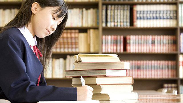 Японская школьница. Архивное фото
