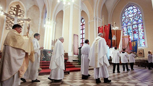 Католическая Пасха - праздник Воскресения Иисуса Христа. Архив